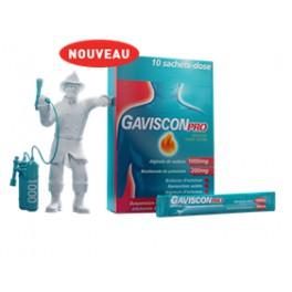GAVISCONPRO MENTHE 10 SACHETS 10ML