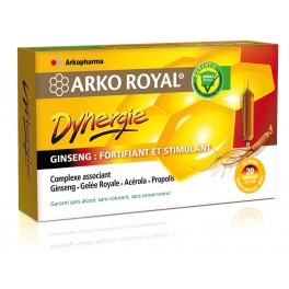 ARKOROYAL DYNERGIE AMPOULES 20X15ML