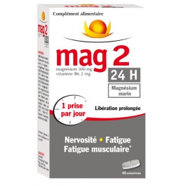 MAG 2 24H MAGNESIUM MARIN 45 COMPRIMES