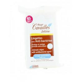 ROGE CAVAILLES 15 LINGETTES INTIME ANTI-BACTERIEN
