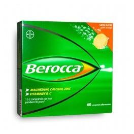 BEROCCA 60 COMPRIMES EFFERVESCENTS SANS SUCRE