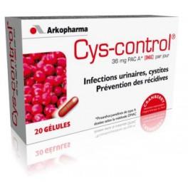 CYS-CONTROL MEDICAL 36MG 20 GELULES