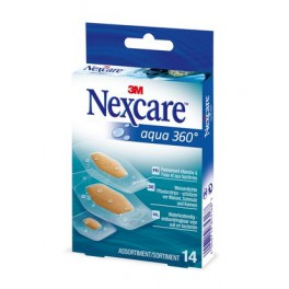 NEXCARE AQUA PANSEMENTS PROTECTION 360° 14 ASSORTIMENTS