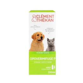 OPOVERMIFUGE SIROP CHIEN CHAT 200ML