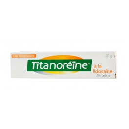 TITANOREINE LIDOCAINE 2% CREME 20G