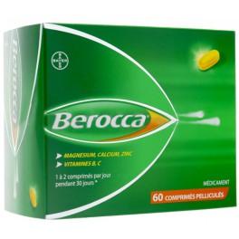 BEROCCA 60 COMPRIMES PELLICULES