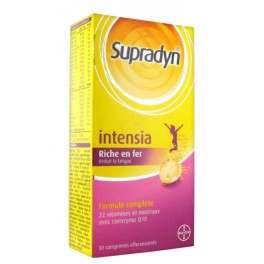 SUPRADYN INTENSIA COMPRIMES EFFERVESCENT 15X2