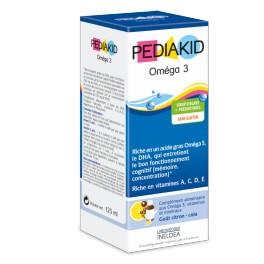 PEDIAKID OMEGA 3 SIR FL125ML 1