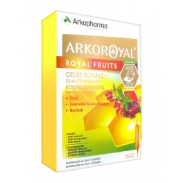ARKOROYAL ROYAL'FRUIT 20 AMPOULES 10ML