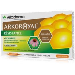 ARKOROYAL RESISTANCE 20 AMPOULES 10ML
