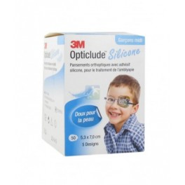 OPTICLUDE SILICONE BOY PANSEMENT ORTHOPEDIQUE