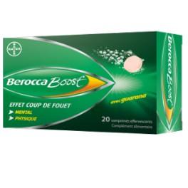 BEROCCABOOST COMPRIMES EFFERVESCENTS - 2X20