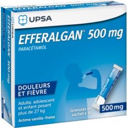 EFFERALGAN 500MG 16 STICKS