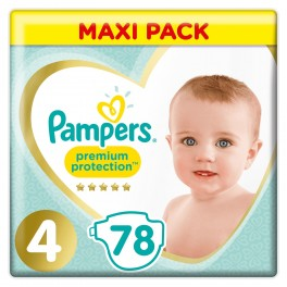 PAMPERS PREMIUM Cche prot T4 8-16kg Paq/78