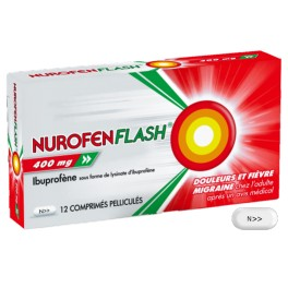NUROFENFLASH 400MG