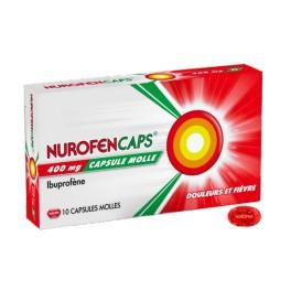 NUROFENCAPS 400MG 10 COMPRIMES