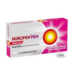 NUROFENFEM 400MG 12 COMPRIMES