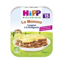 HIPP  LASAGNES À LA BOLOGNAISE ASSIETTE 250G
