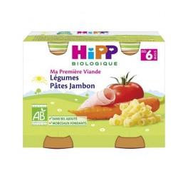 HIPP LEGUMES PATES-JAMBON