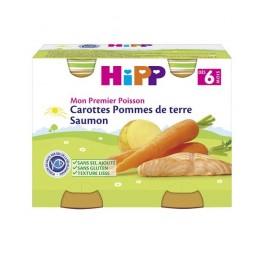 HIPP CAROT PDT SAUMON 190G X2