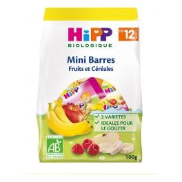 HIPP MINI BAR FRUIT CEREALE 100G