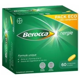 BEROCCA ENERGIE CPR PELLICULE 60