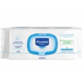 MUSTELA BB LINGETTE NETTOYANTE PEAU NORMALE X70