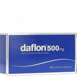 DAFLON 500MG CPR 120