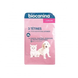 BIOCANINA Tétine B/3