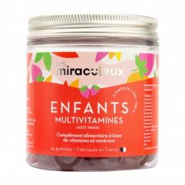 MIRACULEUX ENFANT MULTIVITAMINES  FRAISE GUMX42