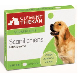 SCANIL VERMIFUGES CHIEN 500MG