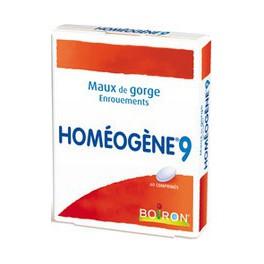 HOMEOGENE 9 - 60 COMPRIMES