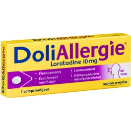 DOLIALLERGIE LORATADINE 10MG