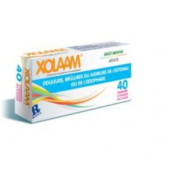 XOLAAM Maux d'estomac, 40 Cp à croquer ou sucer