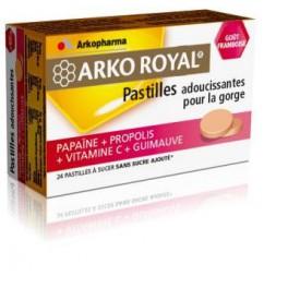 ARKO ROYALE PAPAINE FRAISE PASTILLES TB12X2