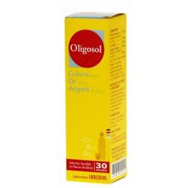 OLIGOSOL CU-AU-AG, solution buvable 60ML