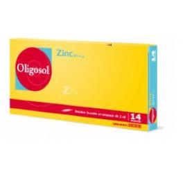 OLIGOSOL ZINC, 14 ampoules buvables 2ML