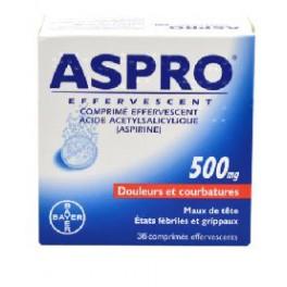 ASPRO FLASH 500MG CPR BT 20