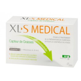 XLS MEDICAL CAPTEUR GRAISSE COMPRIMES 60