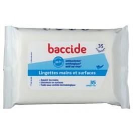 BACCIDE LINGETTTES MAINS POCHE X35