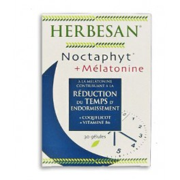 HERBESAN NOCTAPHYT+MELATONINE 30GEL