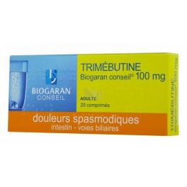 TRIMEBUTINE 100MG 20 COMPRIMES