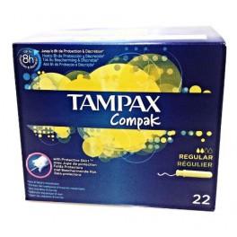 TAMPAX COMPAK REGULIER Tampon périodique avec applicateur