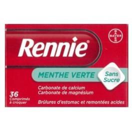 RENNIE SANS SUCRE COMPRIMES A CROQUER 36