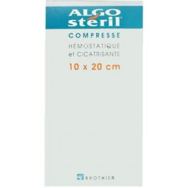 ALGOSTERIL COMPRESSES 10X20CM X16