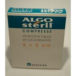 ALGOSTERIL COMPRESSES 5X5CM X10
