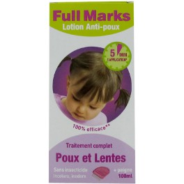 FULL MARKS LOTION ANTI-POUX 100ML